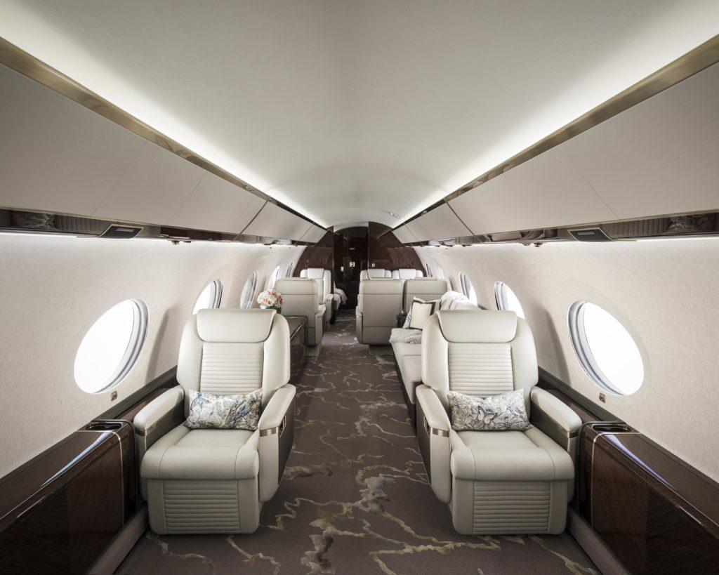 G650ER Interior