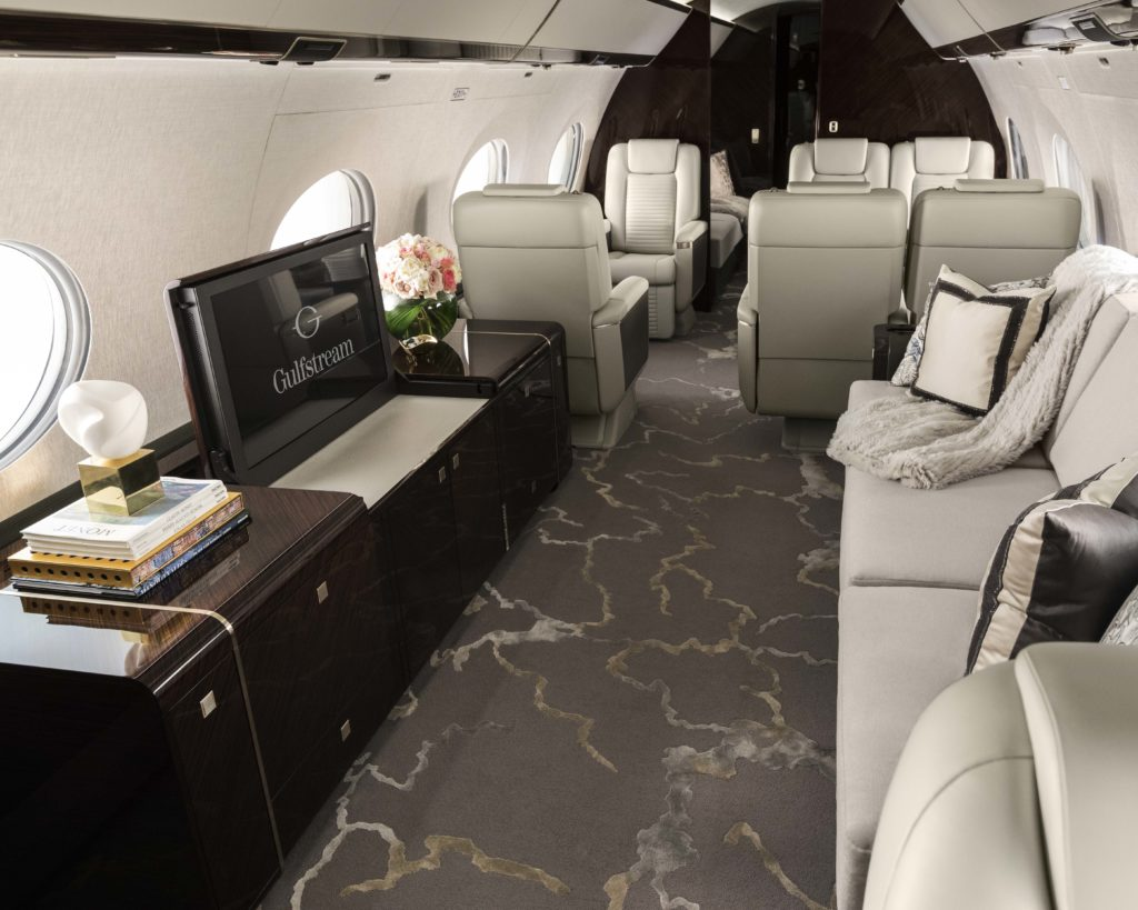 G650 Interior Entertainment