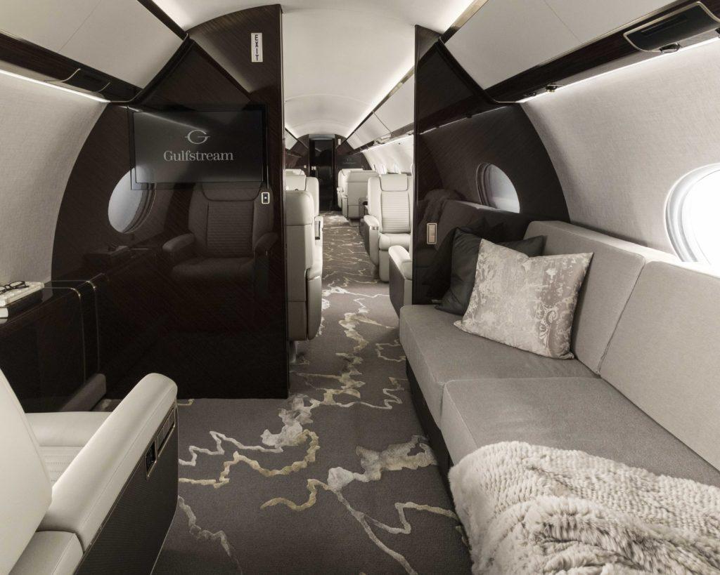 G650 Interior